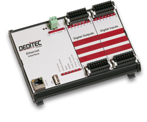 I/O Modul mit Ethernet Interface